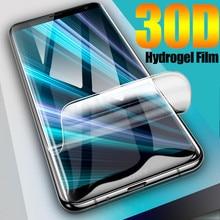 Силиконовая Гидрогелевая пленка для Sony Xperia XZ4 XA3 1 10 5 XZ3 XZ4 XZ2 Premium XZ1 Compact Full Cover мягкая защитная пленка для экрана без стекла