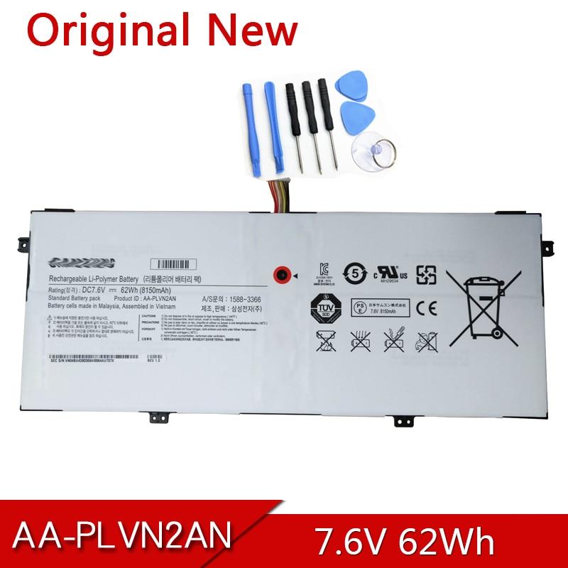 AA-PLVN2AN بطارية الكمبيوتر المحمول الأصلي لسامسونج ATIV 930X5J NP930X5J للكتاب 9 الطبعة 2014 930X5J-K01 NP930X5J-K02DE 7.6 فولت 62Wh