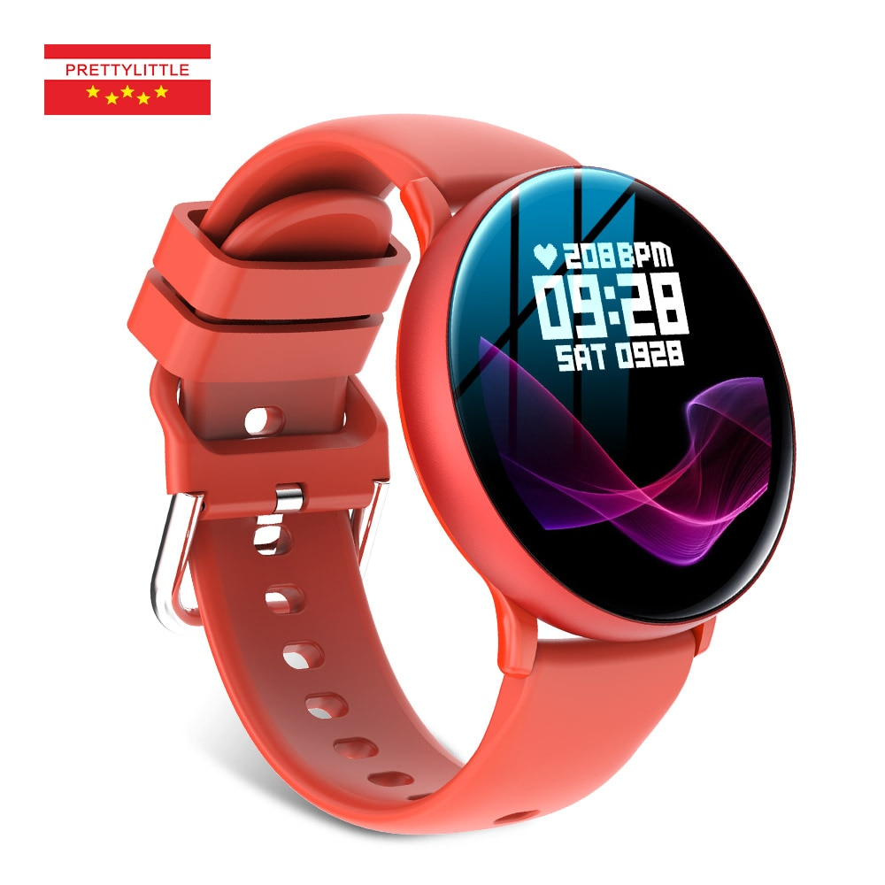 2021 جديد ساعة ذكية الرجال النساء شاشة تعمل باللمس كامل الرياضة اللياقة البدنية ساعة IP67 مقاوم للماء ميزان الحرارة لنظام أندرويد ios Smartwatch