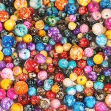 20-100 stücke 8 10 12 14mm Kunststoff Acryl Perlen für Schmuck Machen Mädchen Diy Armband Halsband Halskette perles Lose Runde Süßigkeiten Bead
