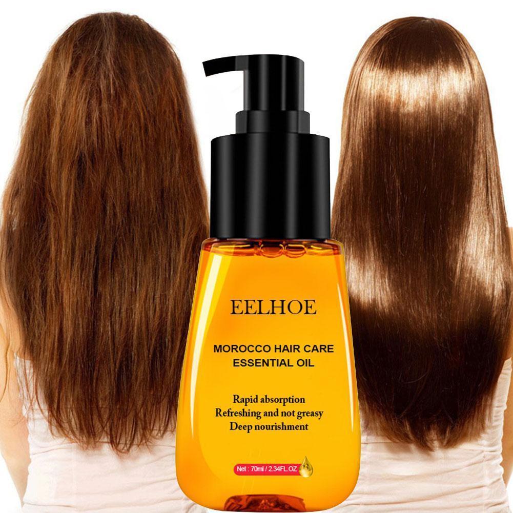 70ml maroc soins des cheveux huile essentielle rapide puissant huile capillaire soins des cheveux prévenir Essence perte croissance cheveux augmentation liquide O9M6