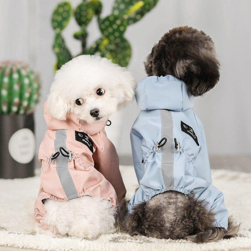 Abrigo Impermeable reflectante para perros, chaqueta de malla transpirable, absorbente para el...