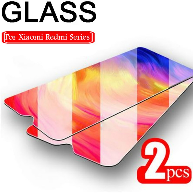 2 uds vidrio Protector para Redmi 8 8A 7 7A 5 Plus película Protector de pantalla para Xiaomi Redmi K20 Pro 6 Pro 5A 6A vidrio templado 9H HD