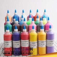 500ml acryl pigment große flasche pigment diy gips spezielle pigment kunst liefert umweltschutz art pigment