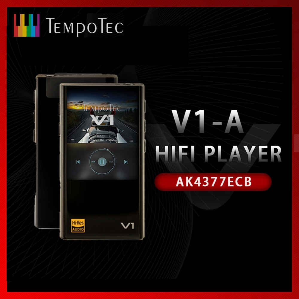 MP3 Player TempoTec V1-A Variations HIFI PCM&DSD 256 Support Bluetooth LDAC AAC APTX IN&OUT USB DAC For PC With ASIO AK4377ECB