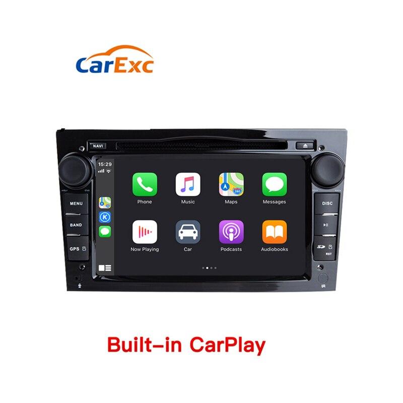 Reproductor Multimedia para coche Android 9,0 con GPS y CarPlay para Vauxhall Opel Astra H G J Vectra Antara Zafira Corsa Vivaro Meriva Veda