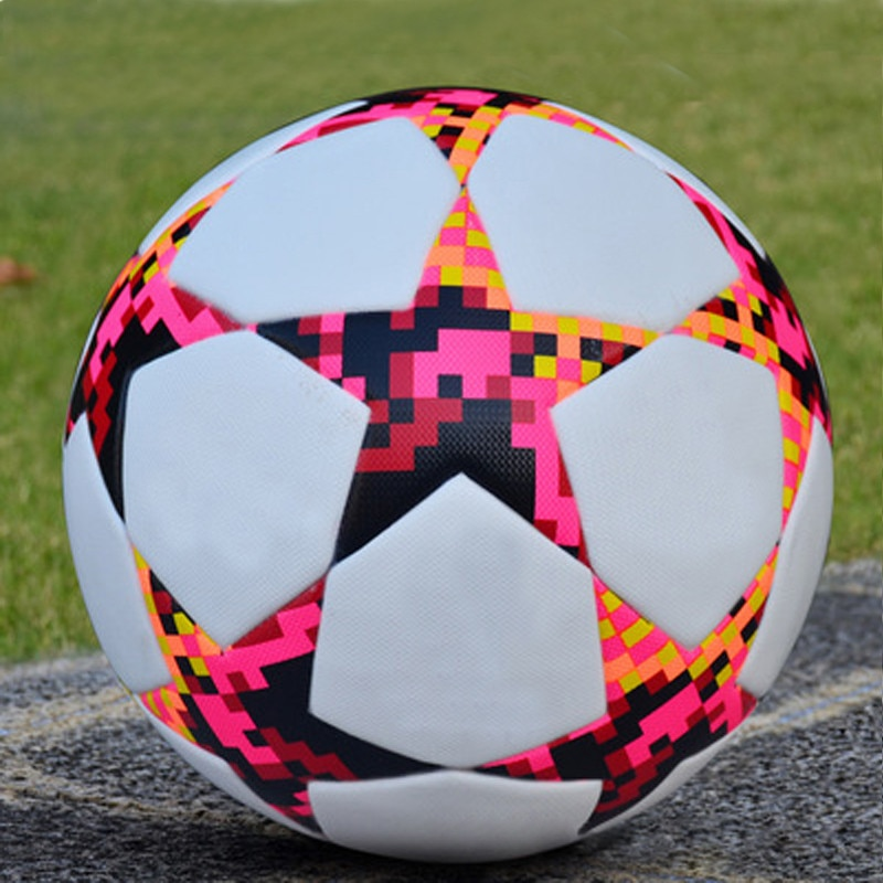 Мяч спортивный, Футбольная команда, футбольные упражнения, Гол Кубок, футбольное снаряжение, бесшовный матч, 5 размеров, профессиональная тр...