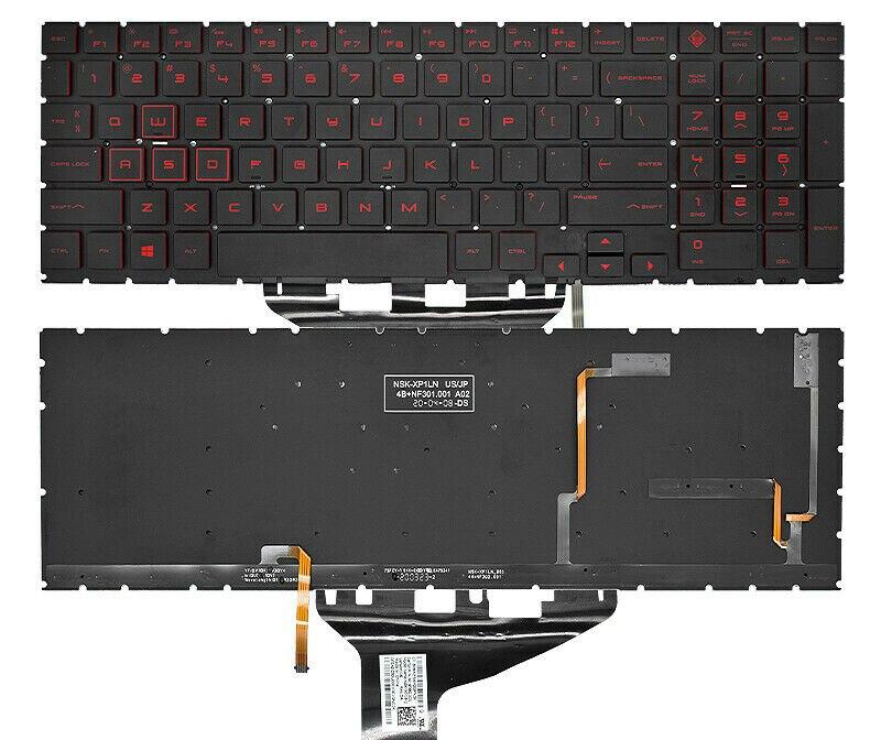 جديد ل HP فأل 15-DH 15-DH002NR 15-DH001 15-DH0161TX DC0003la 15-DC DC005TX DC0004TX لنا اللون الخلفية لوحة المفاتيح