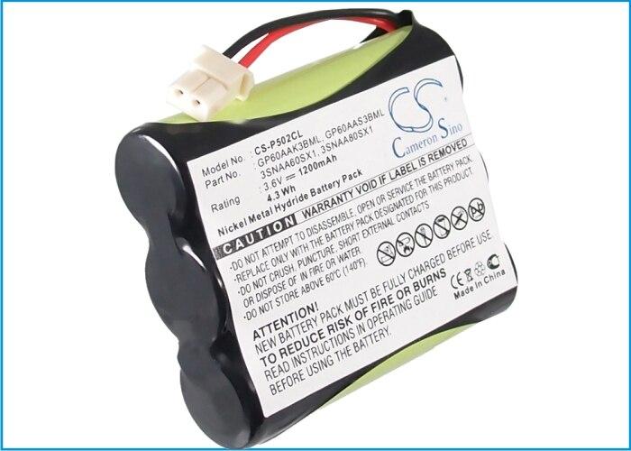 Actualización + Cameron Sino para CIDCO B650... CD900... CL900... CL901... CL906... CL910... CL915... CL920... CL930... DAA800... NP600 1200mAh / 4.32Wh