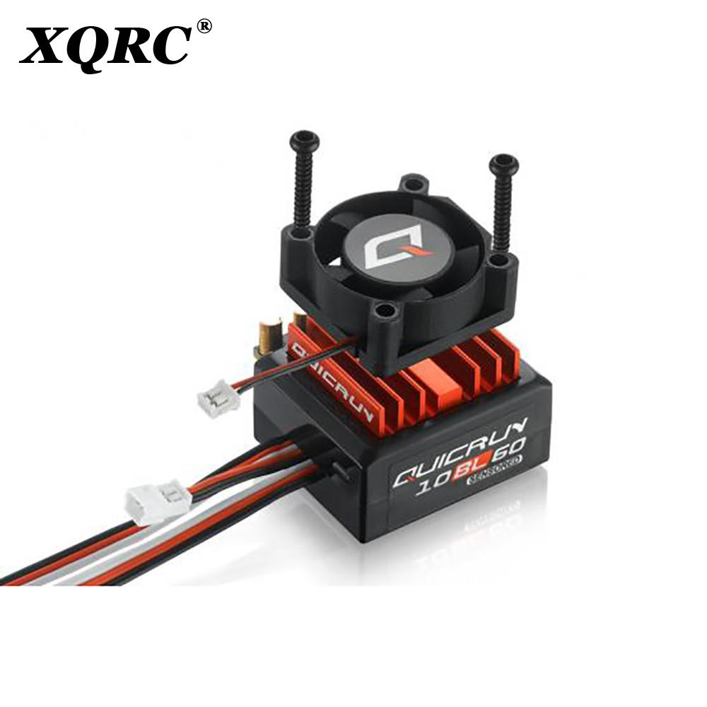 QuicRun 3650 Sensored Brushless Motor + 10BL60 60A Sensored Brushless ESC + LED Program Box General Combo for RC 1/10 Car enlarge