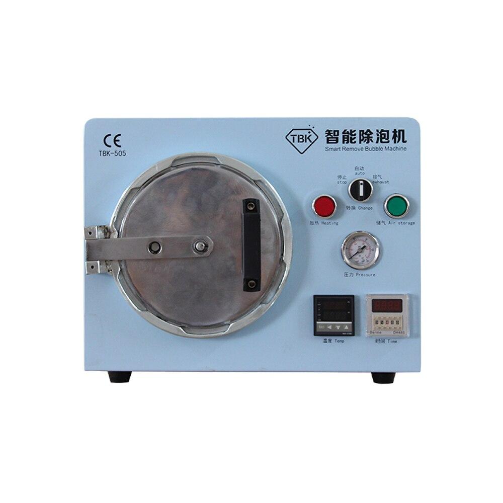 LY TBK-505 فقاعة إزالة آلة متعددة وظائف الذكية المدمج في الهواء ضاغط لا الكهربائية الضوضاء ل LCD شاشة تجديد
