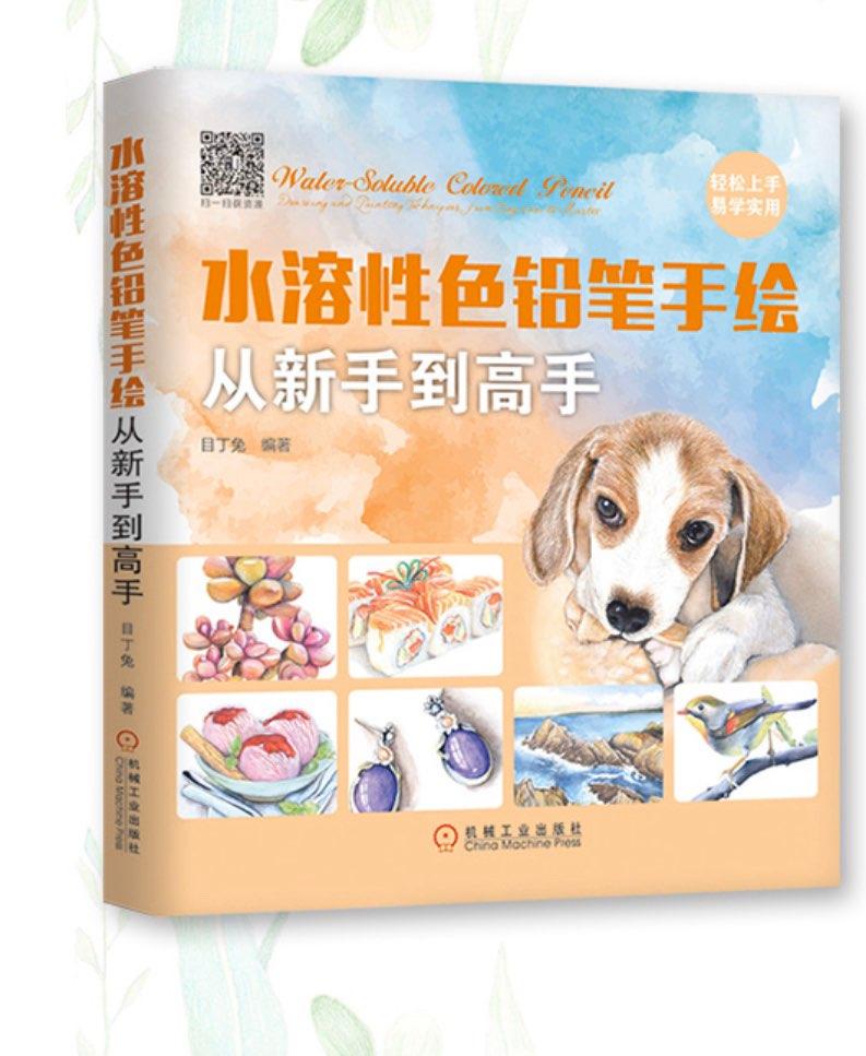 Agua-solubilidad pluma de Color Pencli dibujo libro para pintar art de principiante a competentes maestro
