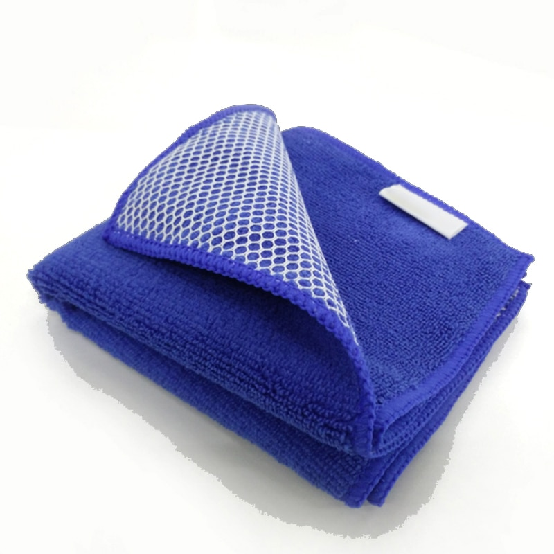 Kitchen Anti-grease wiping rags efficient Super Absorbent Microfiber Cleaning Cloth home washing dish kitchen Cleaning towel недорого