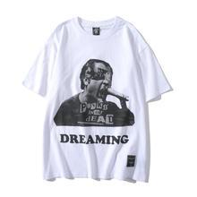 Rapero Xxxtentacion camiseta para hombre estampada verano 2020 pantalón corto Casual manga para hombre moda Pornhub camisetas hombre ropa hombre