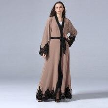 2019 caftan turc musulman vêtements femmes robe abayas