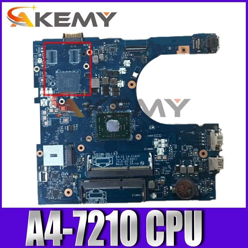 لديل انسبايرون 5555 A4-7210 AM7210 اللوحة المحمول AAL12 LA-C142P CN-0799KM 0799 كجم DDR3 مفكرة اللوحة