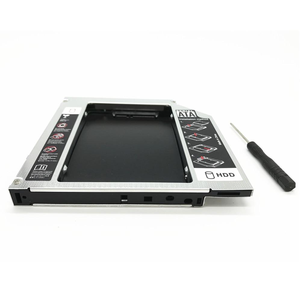"JCX PATA IDE a SATA 3,0 2nd HDD Caddy 12,7mm para 2,5 ""SSD caso caja de disco duro para Notebook CD-ROM DVD-ROM Optibay"