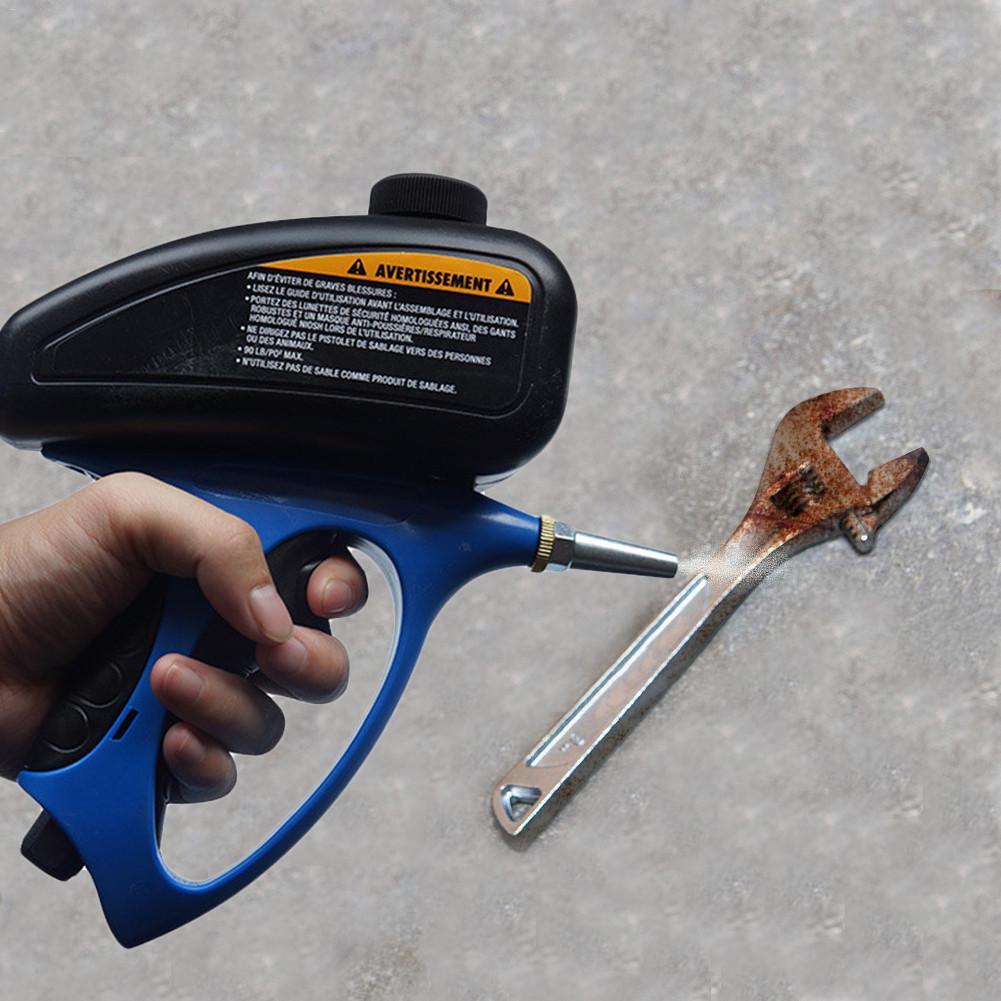 Sabbiatura pneumatica manuale della sabbiatrice antiruggine, sabbiatrice dello spruzzatore della pietra tombale con l'ugello piccolo