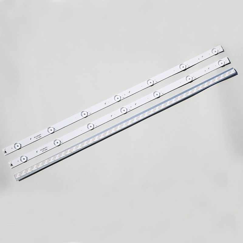 10 unids/lote LCD TV LED Universal 32 pulgadas misceláneo Machine LED backlight 7 lámpara 6v de Largo 61CM 100% nuevo sustrato de aluminio