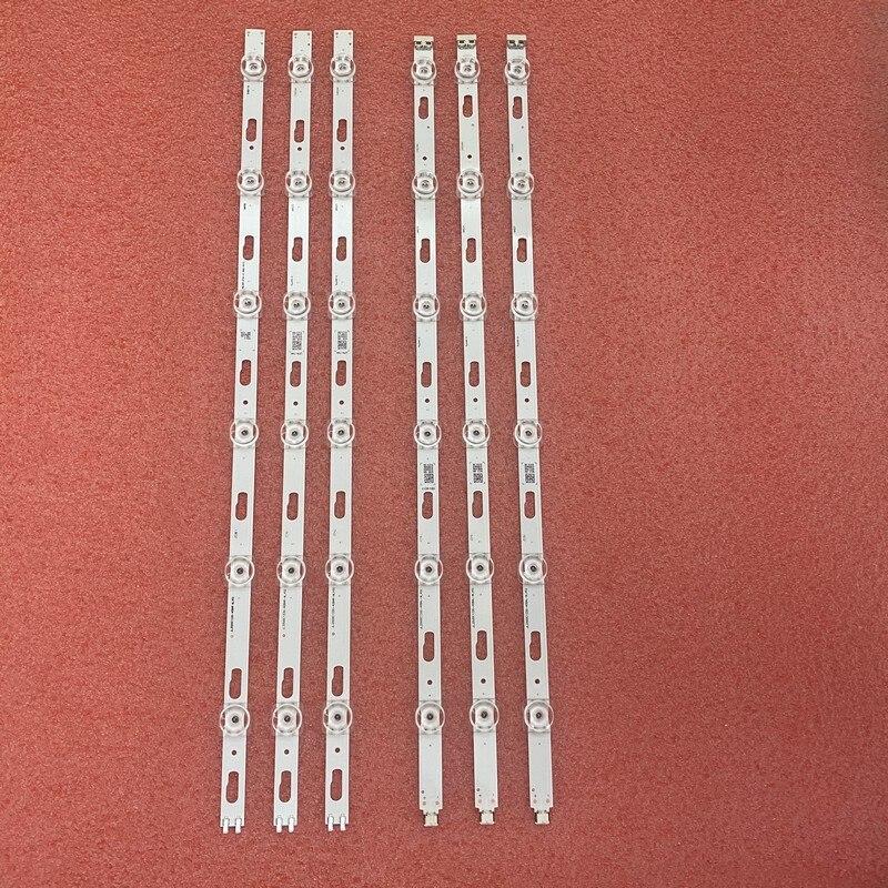 Kit 6pcs LED bar for Samsung UE50TU8500 UA50TU8000 UA50TU7000 JL.D500C1330-408AL-M_V02 408AR-M_V02 C