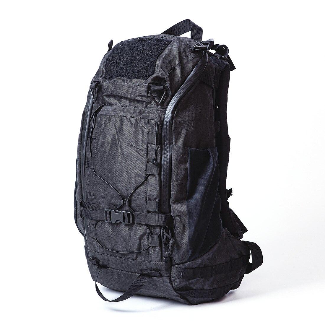 Lii Gear 25L Fugu Bomb Multifunctional Tactical Backpack Tactics Accessories For Men Women - Black (Universal Edition)