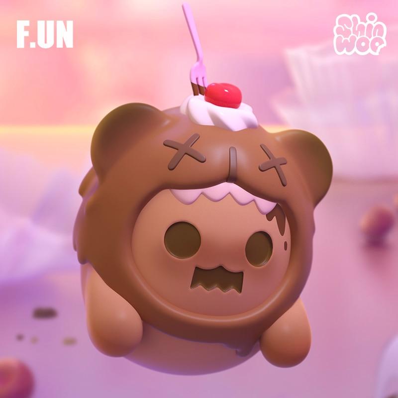 Birthday gift bear looking for unicorn ghost, trendy Kid Doll computer desktop decoration Kawaii Toy Blind Random Box