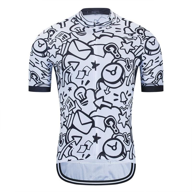 STRAVA-Ropa de Ciclismo para hombre, Maillot de manga corta y secado rápido,...