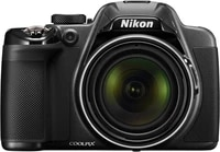 FULL NEW Nikon COOLPIX P530 16 1 MP CMOS Digital Camera with 42x Zoom NIKKOR Lens and Full HD 1080p Video  Black