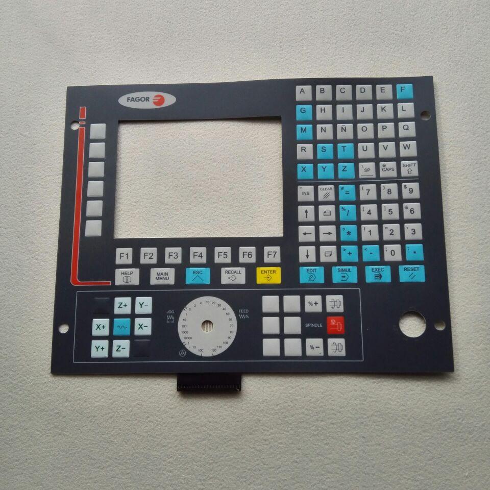 Nuevo teclado y máscara de teclado de membrana FAGOR system CNC8035-M 8036 8035T para Operación Reparación de panel, tenemos en Stock
