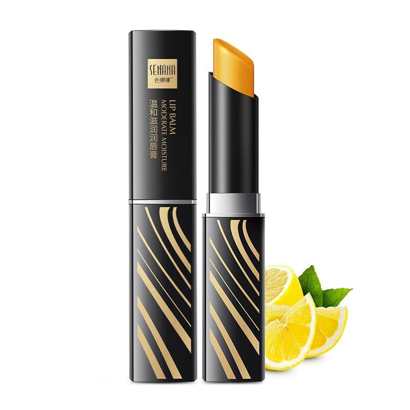 1PC humedad bálsamo de labio de larga duración Natural nutritivo labios bálsamo pintalabios de larga duración labial hidratante Anti envejecimiento