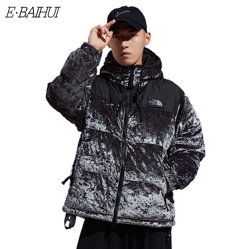 2020 Winter Autumn New Men Fashion Outwear Loose Fit Warm Parkas Jacket Coat Men Classic Outfits Thick Bio-Down Jacket Parka Men