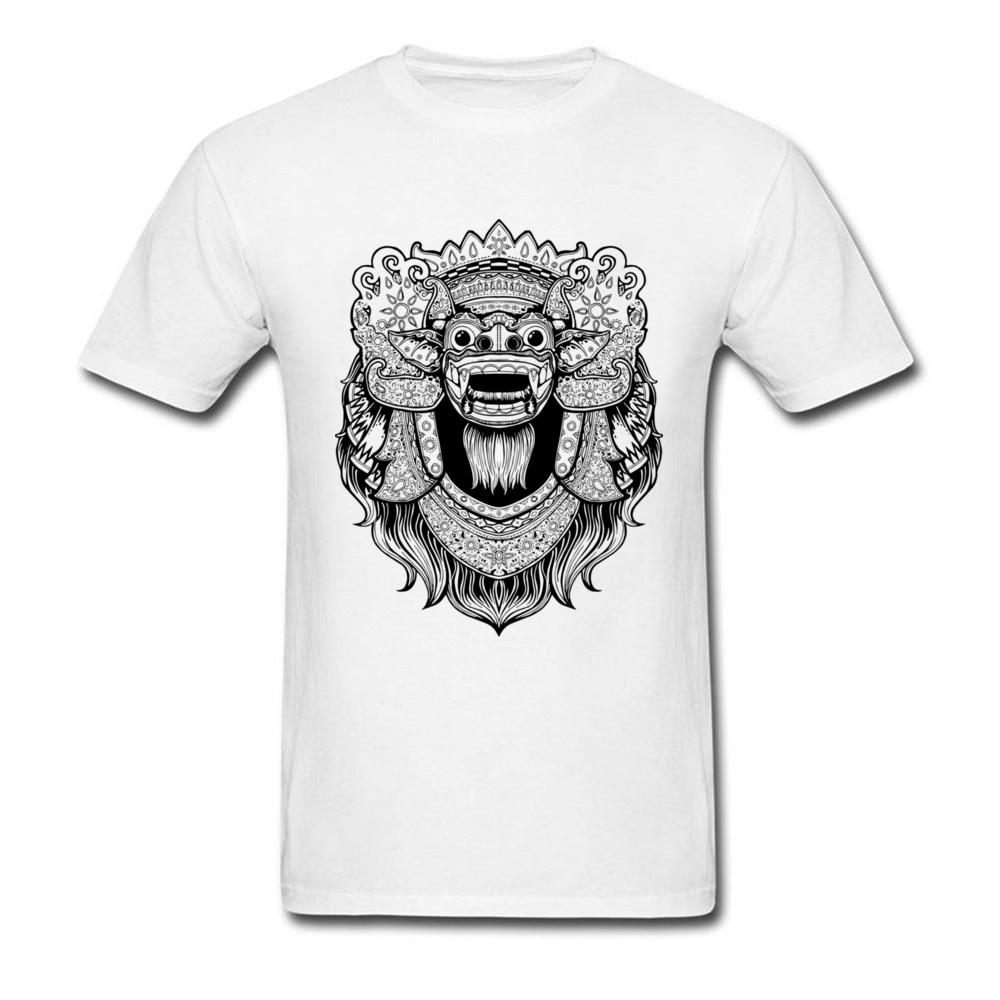 Camiseta de manga corta para hombre de Camiseta de algodón en blanco...