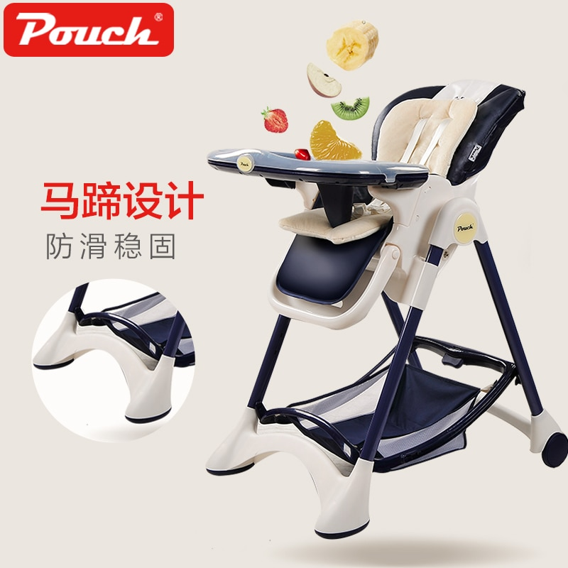 Pouch Baby Dining Chair Multi-functional Baby Highchair Foldable Portable Dining Table and Chair Baby Feeding Chair Safety Seat enlarge