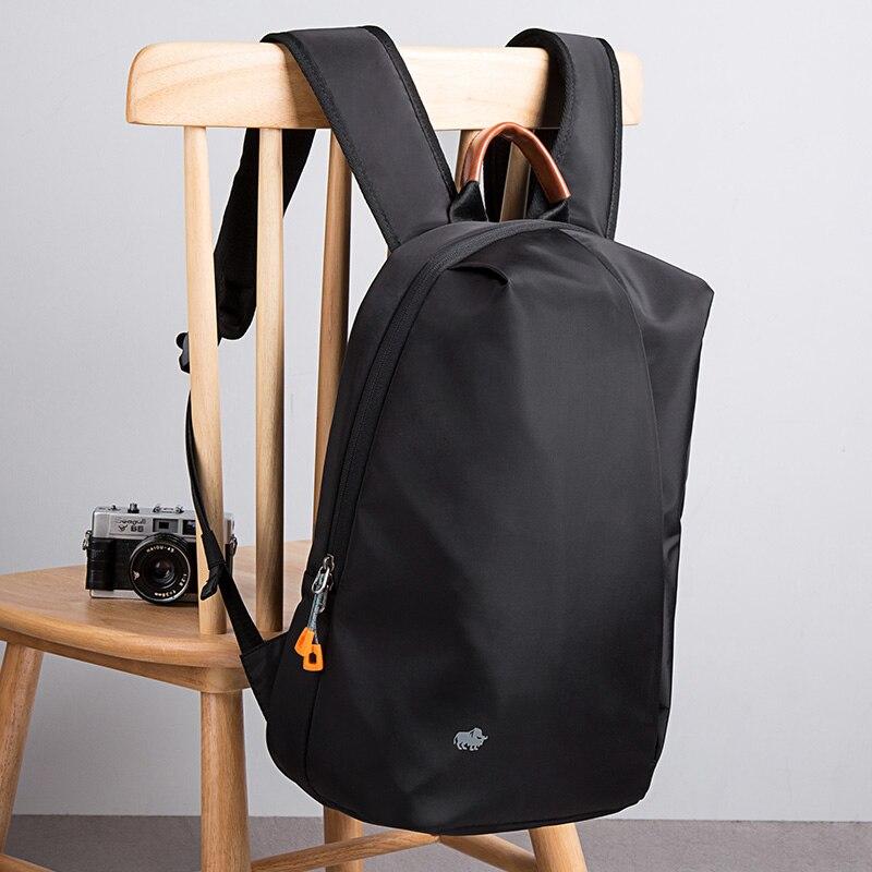 Bison Denim-حقيبة ظهر للكمبيوتر المحمول مقاس 15.6 بوصة للرجال ، حقيبة سفر مقاومة للماء ، مناسبة للاستخدام في الهواء الطلق ، عصرية ، للمراهقين