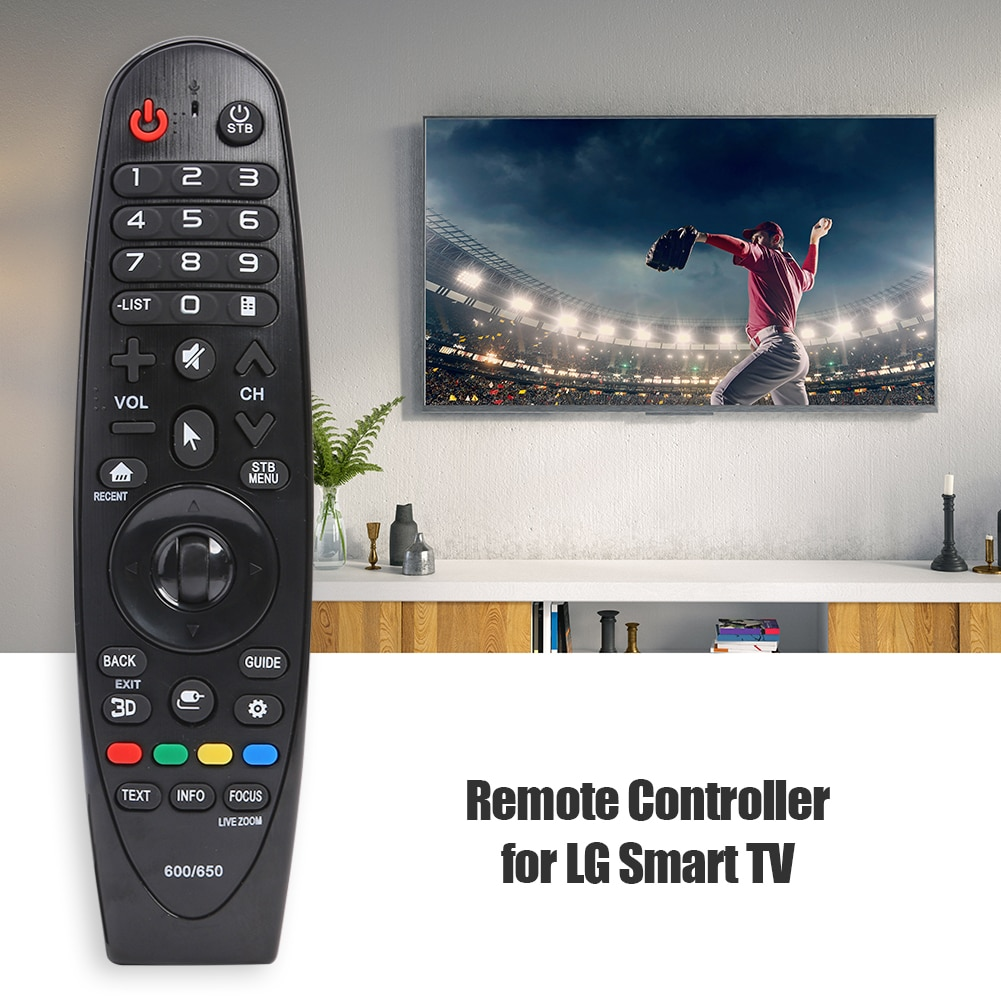 Space-saving Remote Control Replacement w/ USB Receiver Bedroom Accessories for LG Magic Remote AN-M