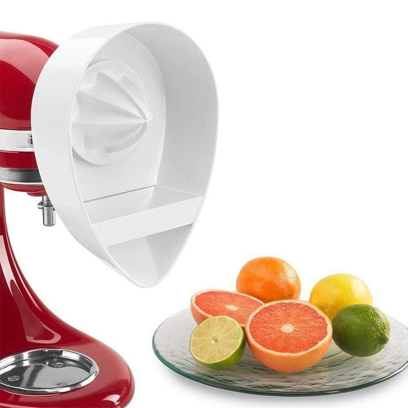 Juice Attachment for Kitchenaid Stand Mixers (4.5QT/5QT) Citrus Juicer Stand Mixer Attachment Reamer Safe Kitchenaid Accessories