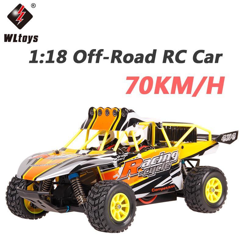 Wltoys K929-B High Speed RC Drift Car 70KM/H RC Car 1:18 4WD Off-Road Remote Control Car Radio Control Toys Climbing Car