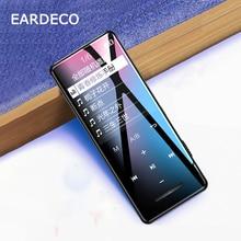 EARDECO Touch Button Screen Audio Mp3 Player Bluetooth Hifi Walkman Portable Metal Music Players Mp 3 Hi Fi Flac Lossless