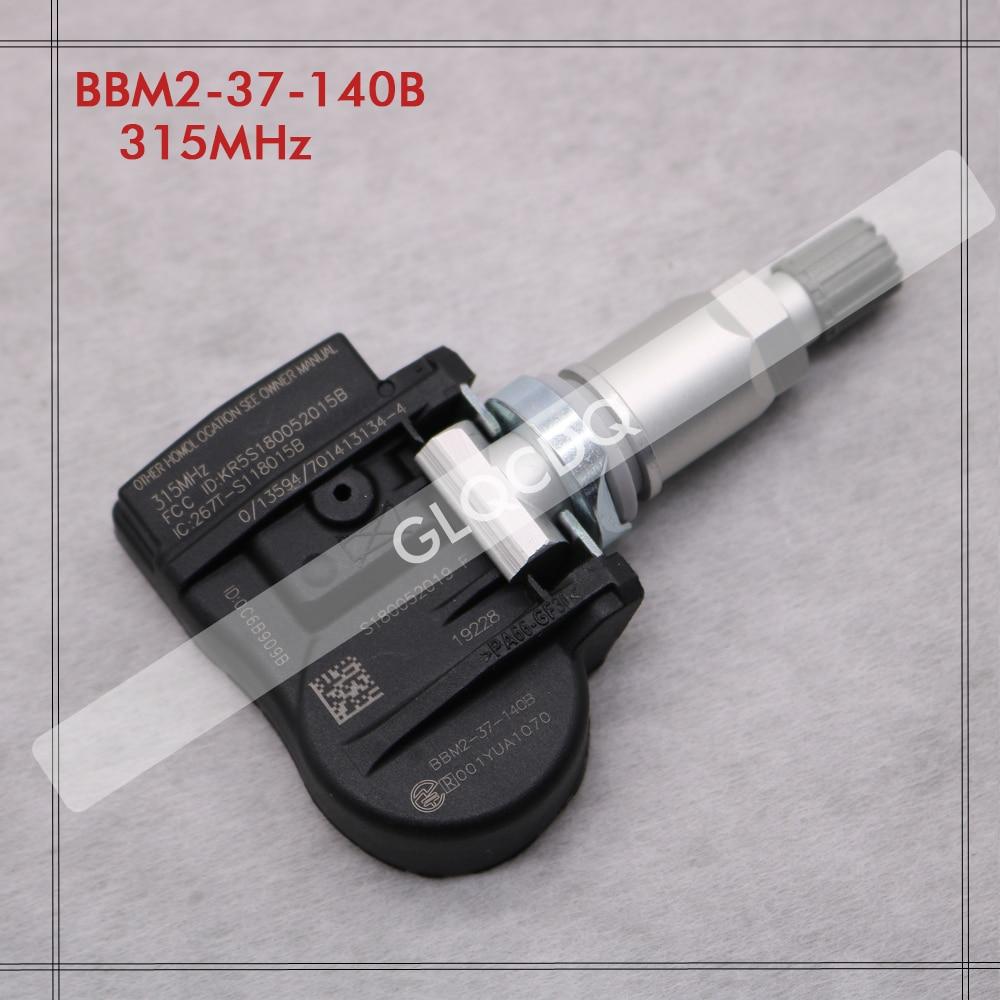 Para 2006-2016 MAZDA CX-9 TPMS MAZDA 315MHz SENSOR de presión de neumáticos BBM2-37-140B BBM237140B BHA4-37-140 BHA437140 FE01-37-140A