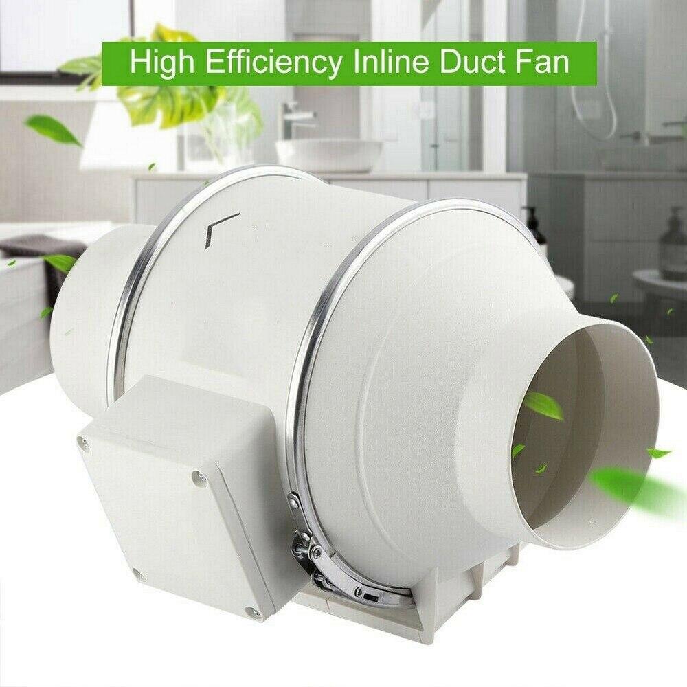 4 дюймовый бесшумный встроенный вентилятор вентиляции для ванной и дома
