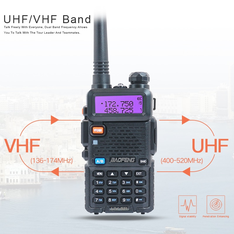 Walkie Talkie Two-Way Radio 5W Protection Rubber Cover BAOFENG Walkie Talkie UV-5R Silicone Rubber Case Five Colors enlarge