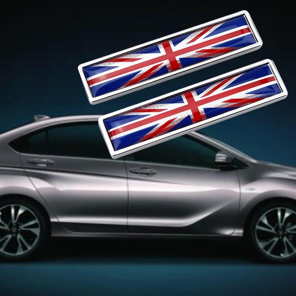 Nationalen Flagge Emblem DIY Metall Auto Aufkleber Auto Styling-Großbritannien Stamm Aufkleber Aufkleber Für Aston Martin JAGUAR MINI # YL10