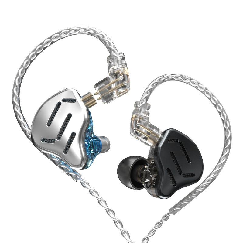 KZ bean counters محاسبي البنك في الأذن سماعات 1DD + 7BA ايفي باس مراقب سماعة الهجين التكنولوجيا الضوضاء إلغاء سماعات الأذن سماعات أذن بأسلاك