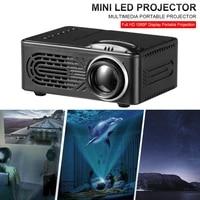 Mini projecteur LED Portable HD 1080P  cinema a domicile  multimedia  mise au point manuelle  reglage pour Home cinema