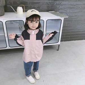 Kids Girl's Autumn Fashion Leisure Stormwear Coat