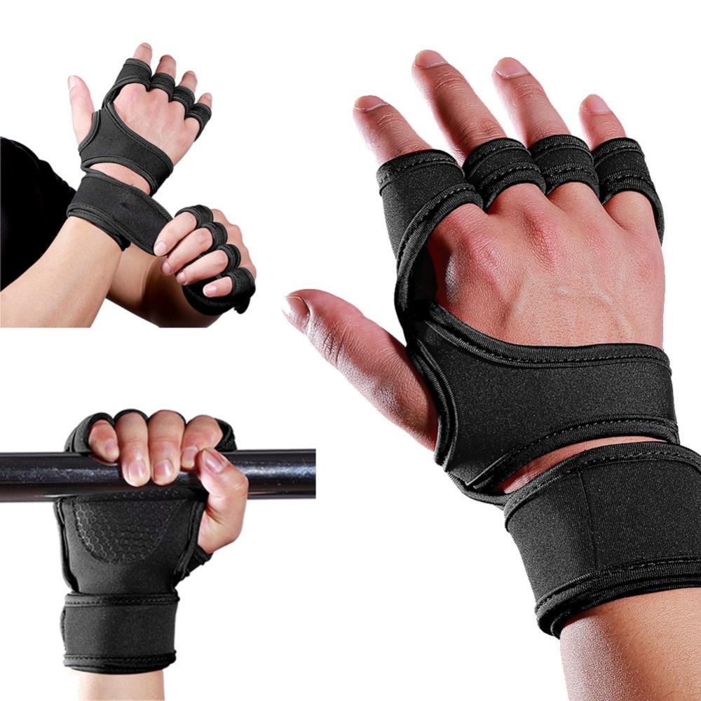 Guantes de gimnasia gimnasio, guantes de levantamiento de pesas para musculación, entrenamientos deportivos para ejercicio, guante de entrenamiento deportivo para hombres y mujeres