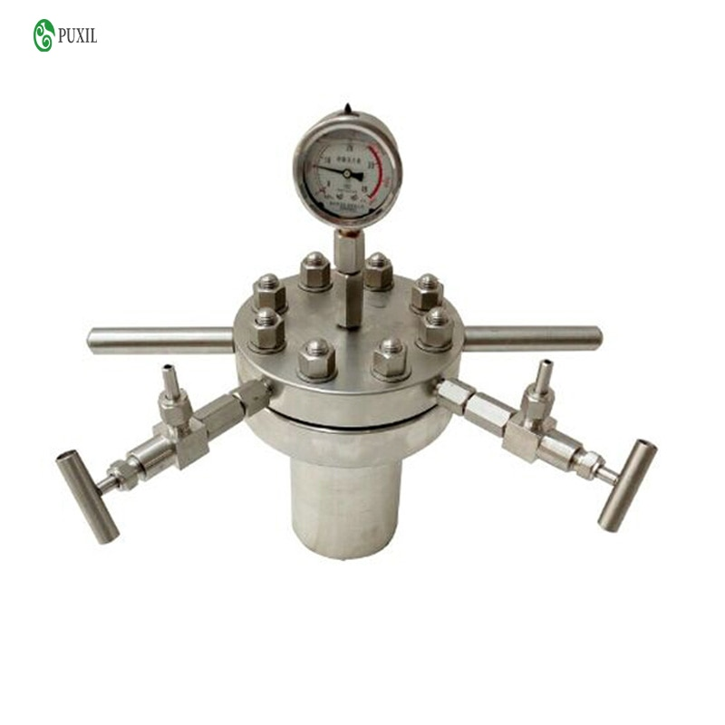 Hydrothermal Synthesis Autoclave Reactor 250ml Tabletop High Pressure Stainless Steel Reaction Kettle enlarge
