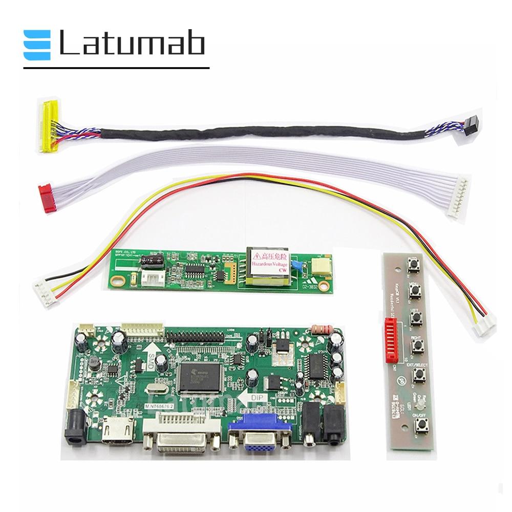Latumab LCD LVDS Controller Board Inverter Kit for LP154WX4 TLA1 / LP154WX4 TLA2 / LP154WX4 TLA3 / LP154WX4 TLA4 / LP154WX4 TLA8
