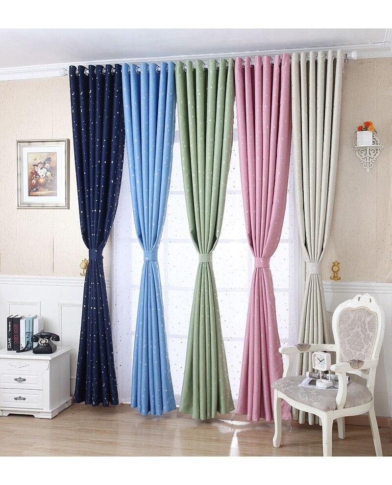 Estilo moderno cortinas oscuras de ventana cortina para sala de estar dormitorio espesar tela Blakcout cortinas transpirable