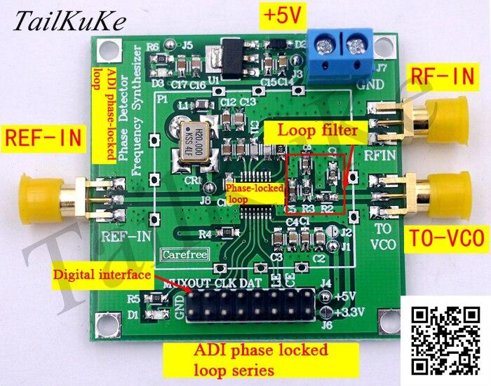 ADF4110 ADF4111 ADF4112 ADF4113 وحدة عالية التردد المرحلة التمييز المرحلة وحدة حلقة مغلقة